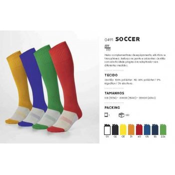 MEIAS SOCCER - MARCA ROLY -...